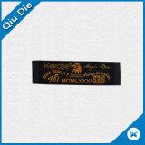 Qualitäts-Zoll gesponnener Kennsatz mit Kleidungs-Marke