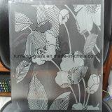 cópia do Silkscreen de 4-15mm/geada/teste padrão ácido gravura em àgua forte e vidro de segurança desobstruído