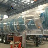Aanhangwagen van de Tank van het Roestvrij staal van de Vrachtwagen van het Vervoer van de Opslag van de Tanker van de brandstof de Semi