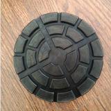 Blocchetti neri del rilievo di gomma della noce NR per la piattaforma di sollevamento dell'automobile