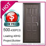 Economia de baixo preço, aço barato a porta de segurança para a construção do projeto (EF-S065)
