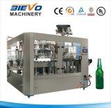 Máquina de rellenar de 3 in-1 Glasss de la cerveza linear de la botella