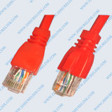 Cable de remiendo Cat5e UTP de cobre de 7 / 0.18 mm