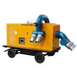 A sujeira de desidratação móvel diesel da bomba de água de drenagem