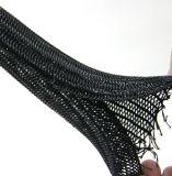 管のための半堅い分割編みこみの袖