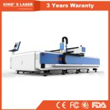 Laser Cutter1000W 2000W 3000W da fibra do metal do CNC da maquinaria da estaca do metal