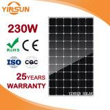 panneau solaire 230W monocristallin pour solaire