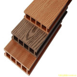 Decking en plastique en bois antidérapage du composé WPC de vente de chemin chaud de jardin