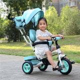 Sedi giranti all'ingrosso del triciclo di bambino della Cina con il baldacchino