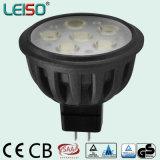 5,5 W FOCO LED MR16 para la mayoría de populares en HK Exposición de iluminación