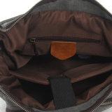 Sacco di spalla lavato borsa di disegno della tela di canapa dell'uomo più nuovo (RS-1027B)