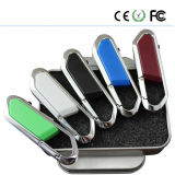 Business USB Metal Carabiner Hook 16 Go USB Flash Drive (DSK)