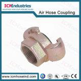 Unión 1/4''Rosca BSP el acoplador rápido los racores de aire industriales