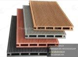 Panneaux de plancher composés en plastique en bois amicaux de WPC Eco/Decking