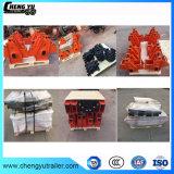 Chinese Vervaardiging 3 de Amerikaanse Mechanische Opschorting van de As voor de Aanhangwagens van Vrachtwagens