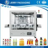 Garrafa de animal de estimação e garrafa de vidro Máquina de enchimento de líquido de suco de frutas