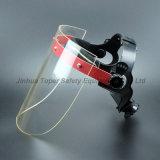 Demi-masque acrylique Suspension réglable Visière de protection (FS4010)