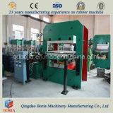 Placa de imprensa de vulcanização da borracha PLC Cura Hidráulico Pressione Vulcanizer a máquina