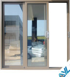 Balcony Use를 위한 6063 T5 Anti Theft Aluminum Door