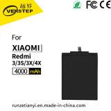 De standaard Batterij van de Telefoon Bm47 voor de Batterij 3.85V 4000mAh van Xiaomi Redmi 3/3s/3X/4X