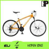 """bicicleta nova da montanha da liga da forma da venda 26 """" 21sp quente alaranjada"""