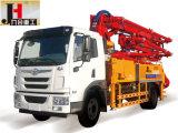 LKW-Eingehangene Dieselbetonpumpe 21m 25m 28m 32m 34m 38m 48m
