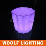 Het kleine Plastic LEIDENE Licht van de Kruk op de Stoel van de Zetel van de Vorm van de Stomp van de Boom
