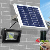 옥외 정원 점화를 위한 60W 높은 광도 태양 LED 투광램프