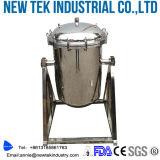 De sanitaire ZuivelFilter van de Melk met het Roestvrij staal van de Maat van de Druk van het Diafragma