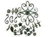 新しく装飾的な鋳造物の錬鉄の花