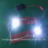 Luzes de moda para bolsa e chapéus Luz LED decorativa