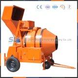 Precio de procesamiento por lotes por lotes del mezclador del mini cemento concreto diesel del surtidor de China