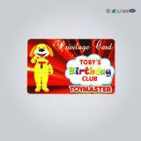 Cartão plástico da impressão do cartão da identificação do negócio