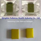 乾燥の香辛料のエビのBouillionの混ぜられ、乾燥された立方体