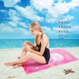 Toalha de praia impresso tecido de viagem em microfibra Secagem Rápida e piscina