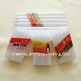 19gms 21gms 22gms vela branca com papel celofane Pack para o mercado da África Ocidental