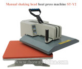 St-Y2 stampante normale d'agitazione manuale della pressa di Tansfer di calore dei vestiti della maglietta della stazione della testa 1
