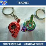 Изготовленный на заказ цветастый автомобиль металла Keychain логоса