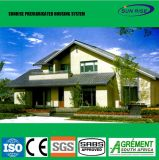 Nuevo diseño de estructura de acero Preparada prefabricados Casas Prefabricadas
