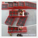 タングステンの超硬合金の回転挿入(CNMG)