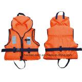 Морские спасательные 420 спасательных жилетов взрослого пены денье EPE