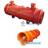 Осевой вентилятор для регулирования расхода металла и химических мин