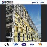 Prefabricados de estructura de acero de alta resistencia con la construcción de la certificación ISO