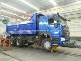 전송을%s 모래는 HOWO 쓰레기꾼 트럭 Zz3257n3647A를 Mucks
