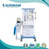S6100d Anästhesie-Gerät mit CO2 Konzentrator und Isoflurane Vaporizer-Einatmung-Anästhesie-Maschine