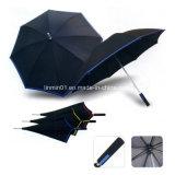 創造的な端マニュアルの昇進のギフトのための開いたまっすぐなゴルフ傘
