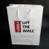 映像の印刷のハンドルが付いている習慣によって印刷されるペーパーショッピング食料雑貨入れの袋
