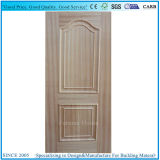 2凸面が付いているComptitiveの灰のベニヤHDFのドアの皮