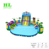 Sunny Holidays Amuesment를 위한 Giant Swimming Pool를 가진 최신 Sale Ocean Theme Inflatable Water Park