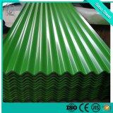 Il colore di PPGI ha ricoperto/strato ondulato galvanizzato preverniciato del ferro del tetto